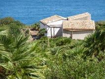 Costa mediterránea de Sicilia imágenes de archivo libres de regalías