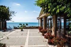 Costa mediterránea de Viareggio Imágenes de archivo libres de regalías