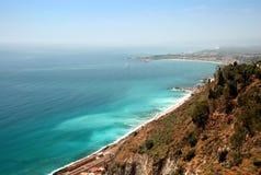 Costa mediterrânea Imagem de Stock