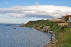 Costa mediterrânea de Viareggio Fotografia de Stock Royalty Free
