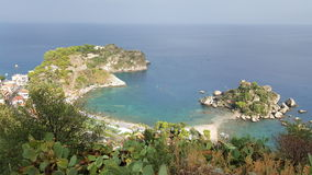 Costa mediterrânea de Viareggio Fotos de Stock