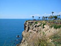 Costa mediterrânea em Antalya Fotografia de Stock Royalty Free