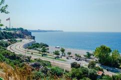 Costa mediterrânea turca Foto de Stock