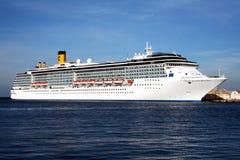 Costa mediterranea Royalty Free Stock Image