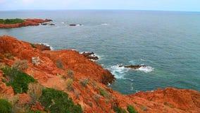 Costa Mediterranea francese video d archivio