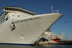Costa Mediterranea Royalty Free Stock Photography