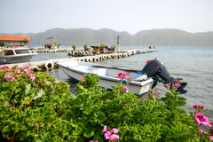 Costa Mediterranea, vacanza Fotografie Stock