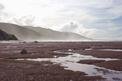 Costa meridional 04 de la bahía de Hawkes Foto de archivo libre de regalías