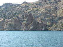 Costa meridional de Crimea fotos de archivo