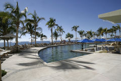 Costa mexicana Fotografia de Stock Royalty Free