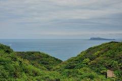 Costa misteriosa di Jinshan, nuova città di Taipei, Taiwan fotografia stock