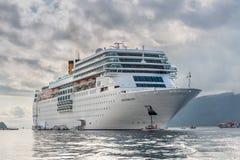 Costa Neoromantica Cruise skepp Arkivfoto