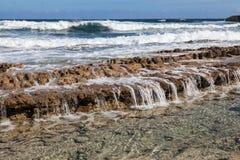 A costa norte de Curaçau imagens de stock royalty free