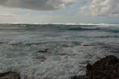 Costa norte, Oahu imagem de stock
