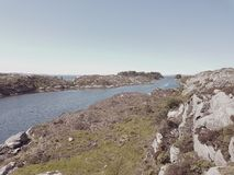 Costa norueguesa Imagem de Stock Royalty Free