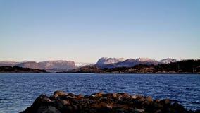 Costa norueguesa Imagens de Stock Royalty Free