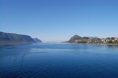Costa norueguesa imagens de stock