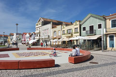 Costa Nova, Beira Litoral, Portugal, Europe Royalty Free Stock Images