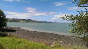 Costa Nueva Zelanda Imagenes de archivo