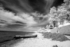 Costa, o Lago Baikal, Rússia Imagem de Stock Royalty Free