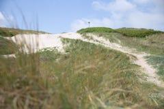 A costa ocidental de Dinamarca imagem de stock royalty free