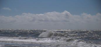 A costa ocidental de Dinamarca foto de stock