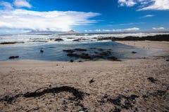 Costa oeste de Cape Town Foto de archivo libre de regalías