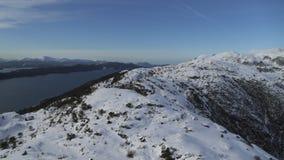 A costa oeste de Noruega vídeos de arquivo