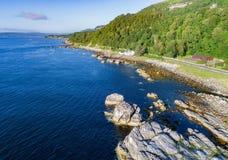 Costa oriental de Irlanda do Norte Fotos de Stock Royalty Free