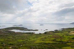 Costa ovest irlandese fotografia stock