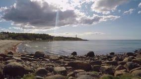Costa ovest svedese video d archivio