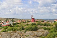 Costa ovest svedese immagini stock libere da diritti