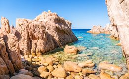 Costa Paradiso. Resort in Sardinia Royalty Free Stock Photos