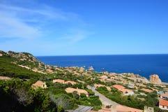 Costa Paradiso em Sardinia Imagens de Stock
