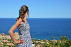 Costa Paradiso en Cerdeña foto de archivo