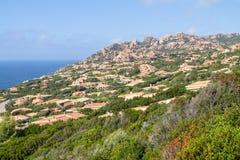 Costa Paradiso landscape on Sardinia, Italy Stock Photography