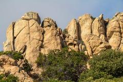 Costa Paradiso landscape on Sardinia, Italy Royalty Free Stock Image
