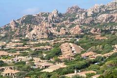 Costa Paradiso landscape on Sardinia, Italy Stock Images