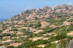 Costa Paradiso landscape on Sardinia, Italy. Costa Paradiso landscape on Sardinia island North Sardinia, Italy Royalty Free Stock Photo