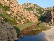 Costa Paradiso. Paradise coast in Sardinia, Italy Royalty Free Stock Photos
