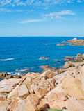 Costa Paradiso rocks Stock Image