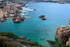Costa Paradiso - Sardegna Fotografia Stock