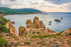 Costa Paradiso, Sardinia Royalty Free Stock Photography