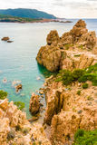 Costa Paradiso, Sardinia Royalty Free Stock Images