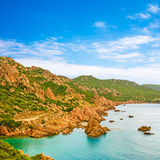 Costa Paradiso, Sardinia Stock Photography