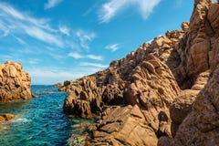 Costa paradiso sardinia sea landscape Stock Image
