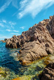 Costa paradiso sardinia sea landscape Stock Photography