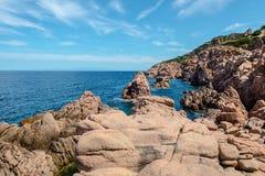 Costa paradiso sardinia sea landscape Royalty Free Stock Photography