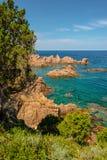 Costa paradiso sardinia sea landscape Stock Photo