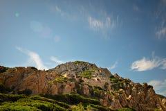 Costa paradiso sardinia sea landscape Royalty Free Stock Image